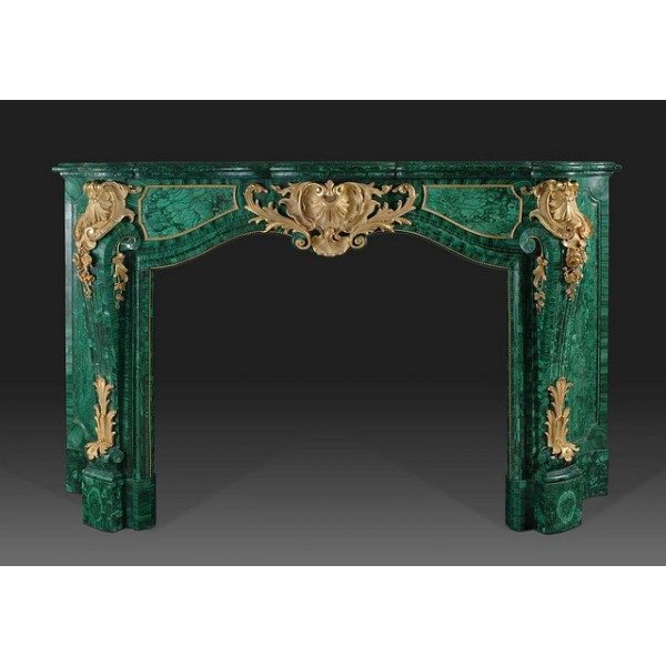 Ref.MANTLE.1501 malachite